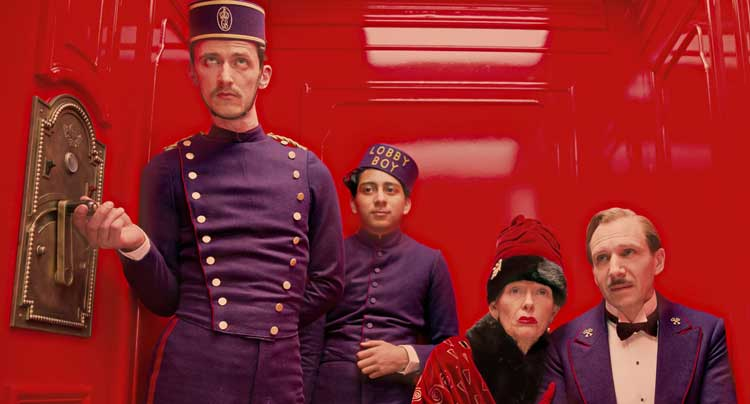 Gran Hotel Budapest wes anderson